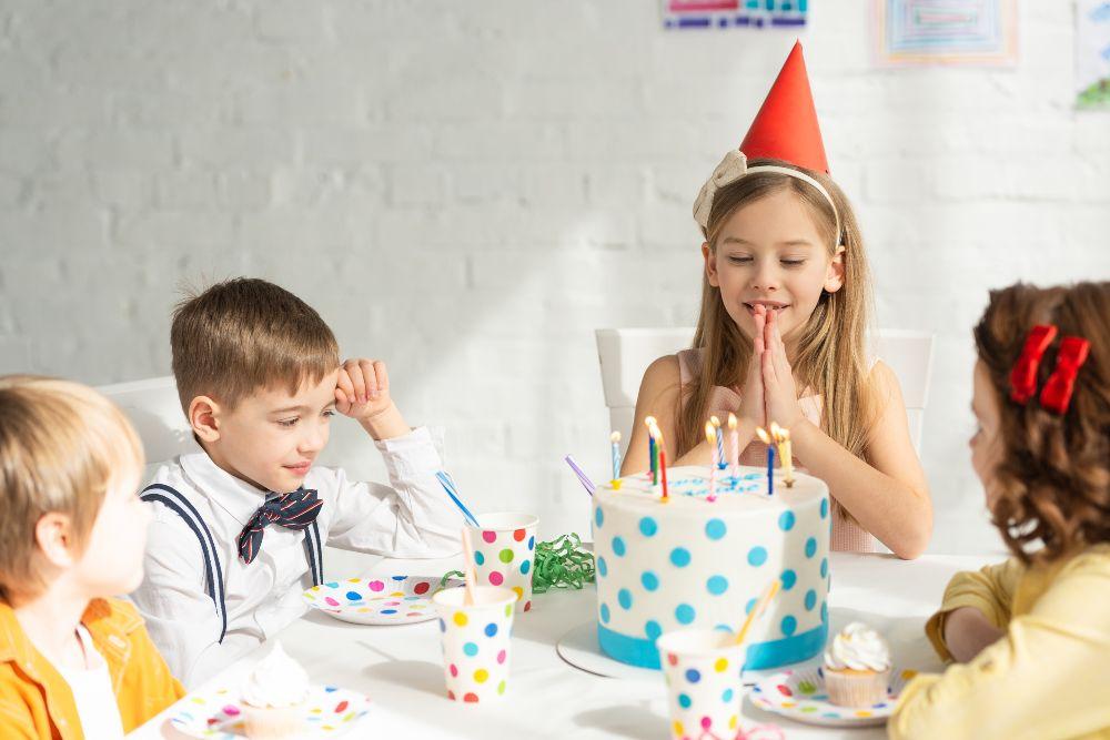 Detský riad na oslavu