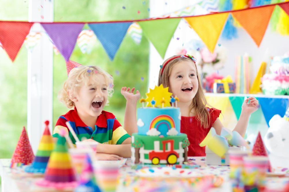 Girlandy na detskú oslavu